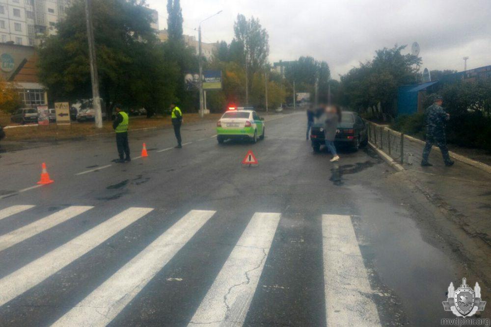 Авария в Рыбнице: пешеход, переходивший не по правилам, оказался в больнице