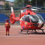 Экипаж SMURD доставил в Кишинёв пострадавшего в результате ДТП мужчину