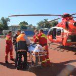 Экипаж SMURD успешно доставил пациента из Единец в столицу (ФОТО)