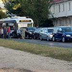 Цепное ДТП в столице: столкнулись четыре машины и троллейбус, есть пострадавшие (ФОТО, ВИДЕО)