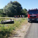 Четверо молодых людей перевернулись на машине в Гидигиче: один скончался на месте (ФОТО)
