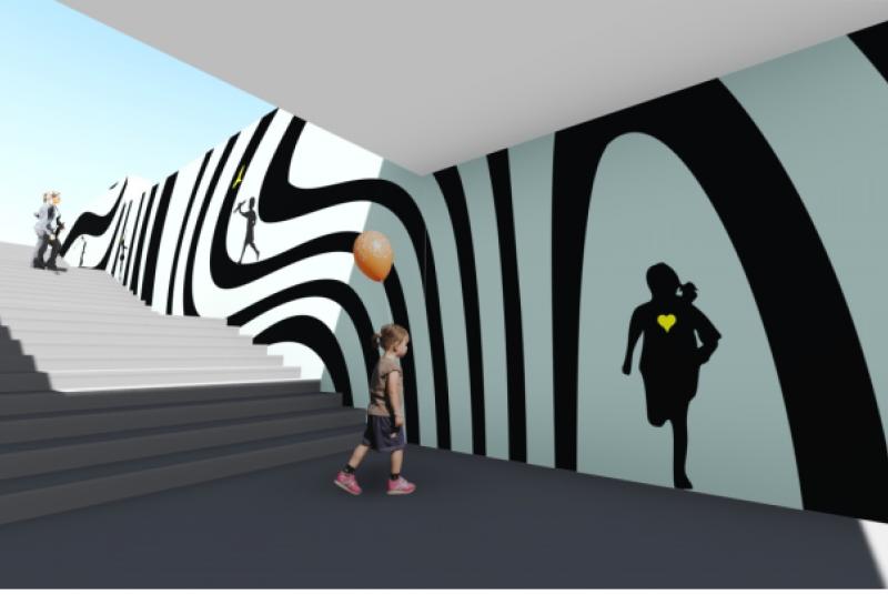 Стал известен победитель конкурса по росписи подземного перехода на бульваре Негруцци