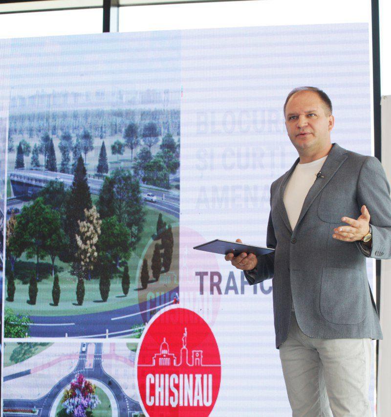 Ион Чебан представил Программу управления Кишиневом на 4 года