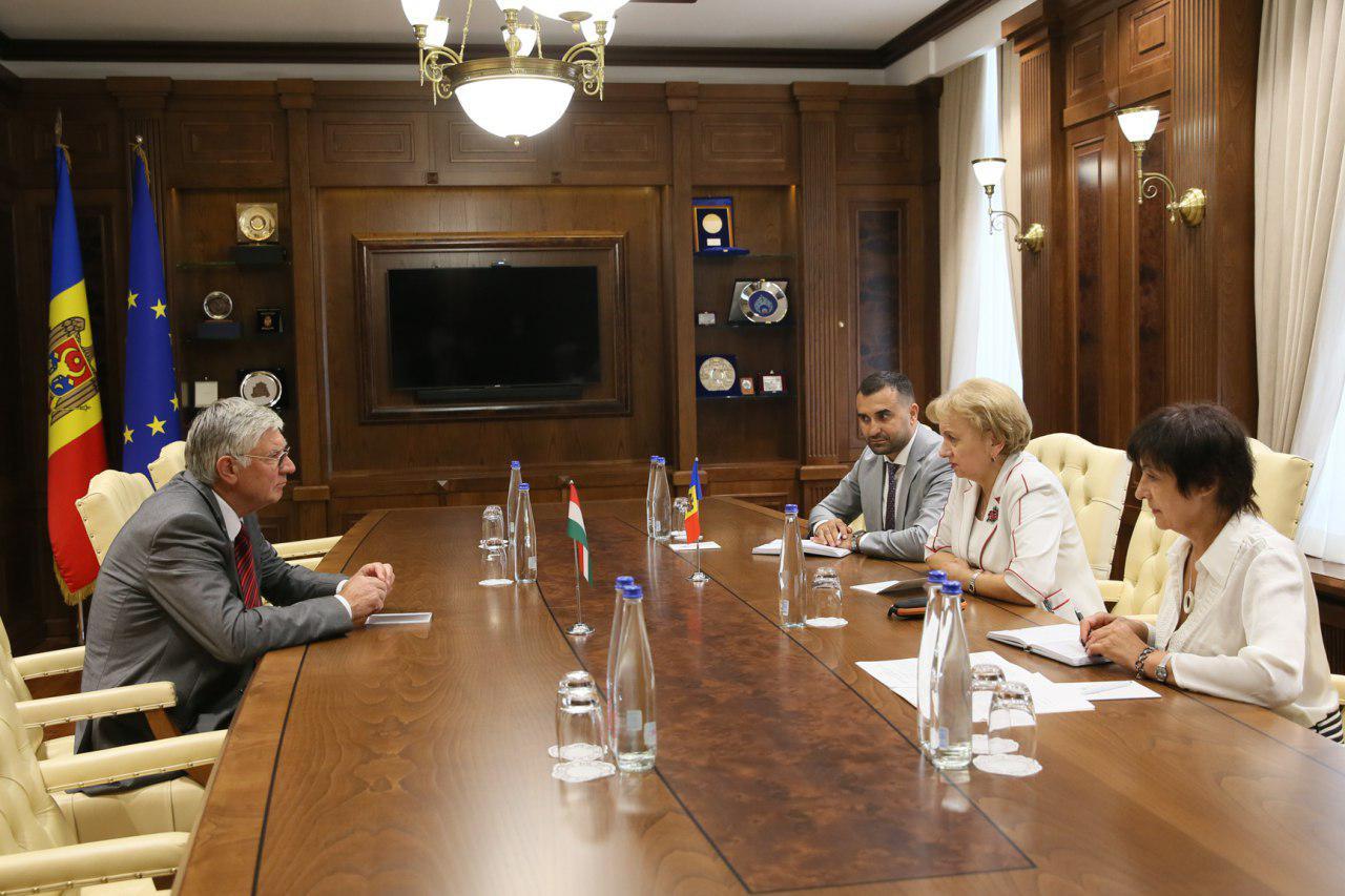 Зинаида Гречаный встретилась с послом Венгрии