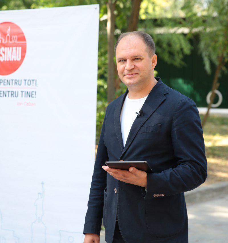 """""""Вне политики!"""": Чебан объяснил отсутствие символики ПСРМ в материалах его предвыборной кампании"""