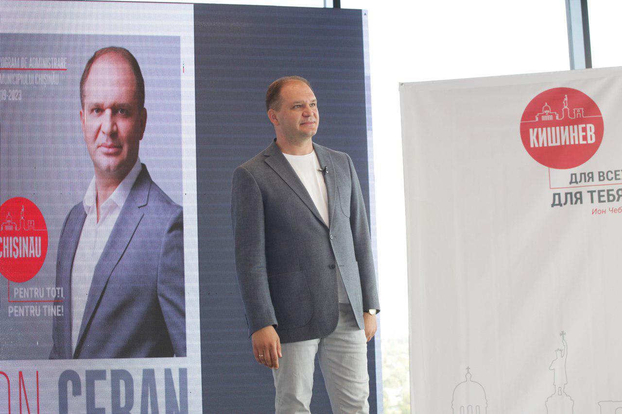 Чебан: Я готов и хочу обсуждать конкретные идеи и программы для развития Кишинева (ВИДЕО)