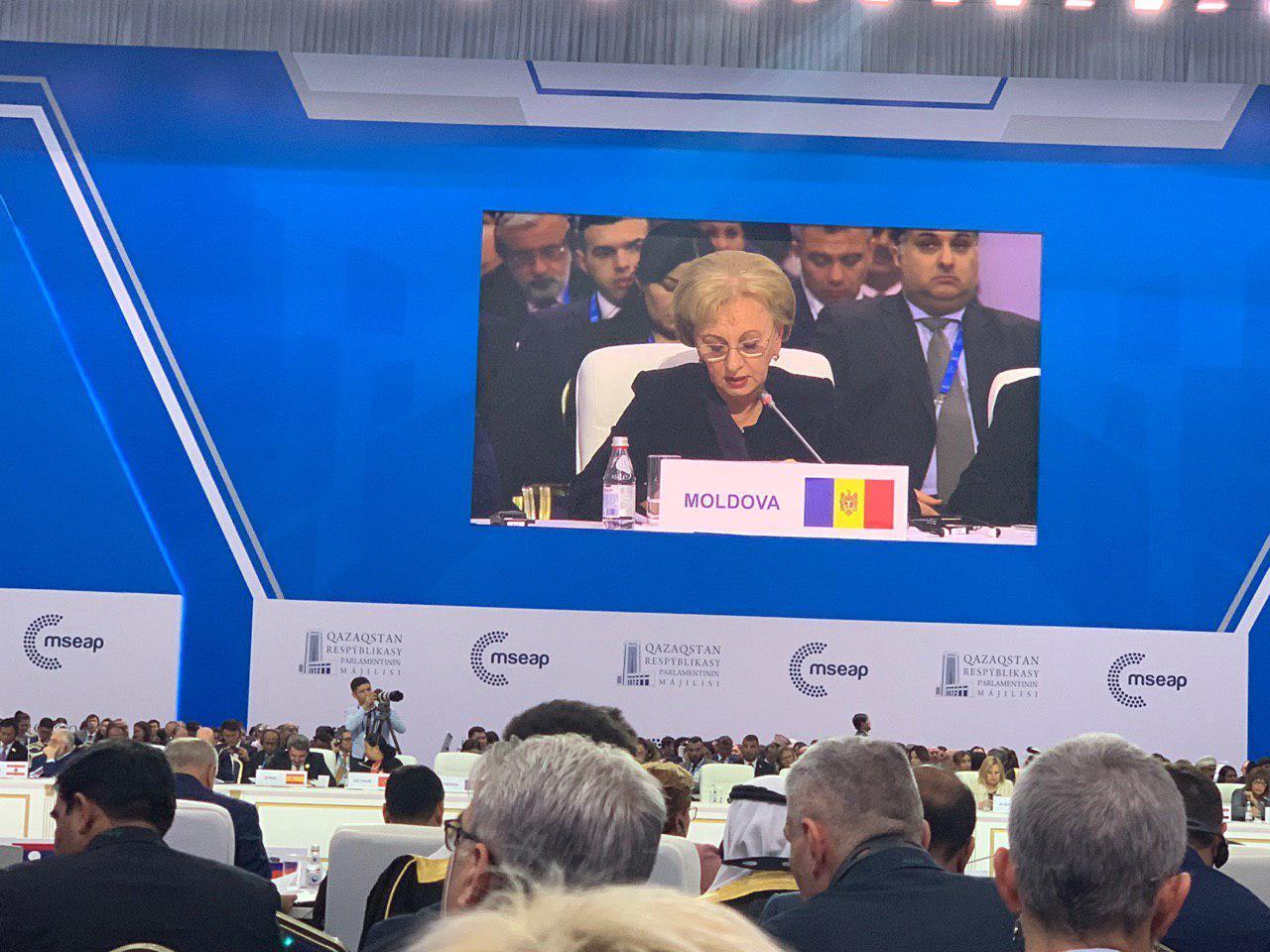 Зинаида Гречаный: В эпоху геополитического противостояния Молдова стремится стать точкой взаимопонимания и сотрудничества