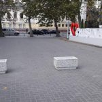 Машинам въезд запрещен: Ион Чебан нашел решение проблемы парковки у инсталляции «Я люблю Кишинев»
