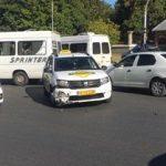 В столице произошло ДТП с участием машины службы такси