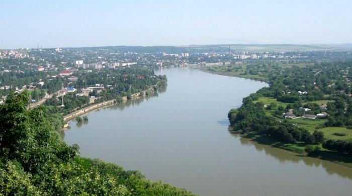 Уровень воды в реках Прут и Днестр начинает снижаться