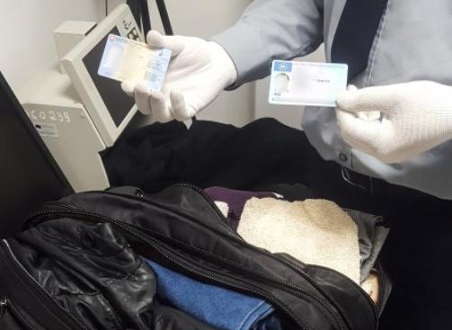 Молдавские пограничники обнаружили у иностранца поддельные документы (ВИДЕО)