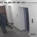 В Кишинёве разыскивают группу молодых людей, укравших велосипед из подъезда (ВИДЕО)