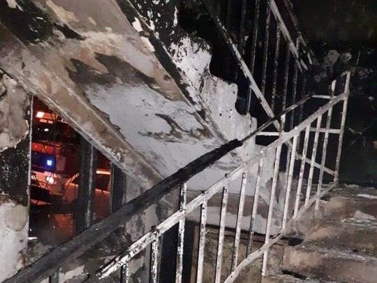 В общежитии на Буюканах вспыхнул крупный пожар: 5 человек госпитализированы (ФОТО)