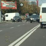 Спустя три дня после страшного ДТП на Буюканах два автомобиля столкнулись на том же перекрёстке