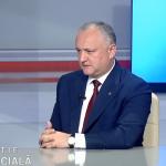 Додон: После выборов в коалиции предстоит серьезный разговор. С некоторыми за один стол уже не сядем (ВИДЕО)