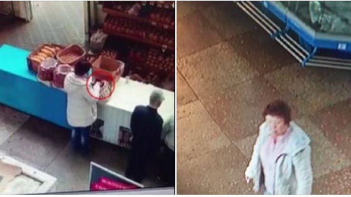 Бельцкая полиция просит помощи в поиске подозреваемой в краже (ВИДЕО)