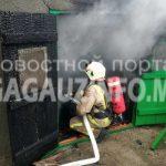 Пожар в Вулканештах: в доме местного жителя загорелся сарай