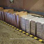 10 000 пачек контрабандных сигарет изъяли на молдо-румынской границе (ФОТО)