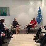 Спикер провела встречу с председателем ПАСЕ