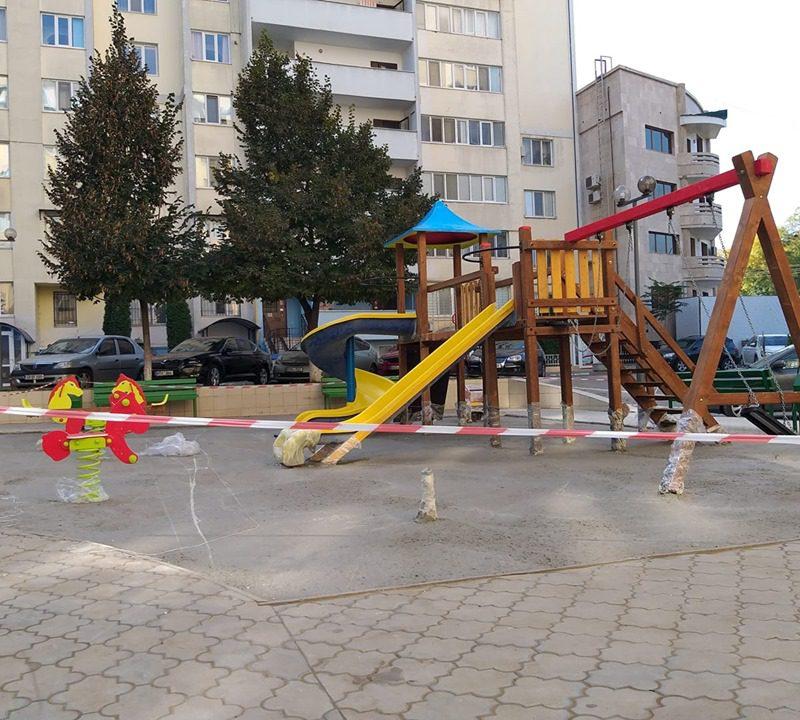 Программа ПСРМ в действии: ещё одну детскую площадку установили в столице