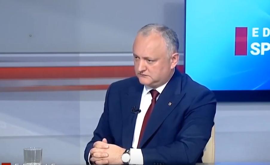 Что сделал президент для Молдовы за три года?