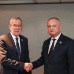 Додон поздравил президента Австрии с национальным праздником этой страны