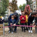 Стараниями социалистов на Ботанике открыты еще две новые детские площадки (ФОТО)
