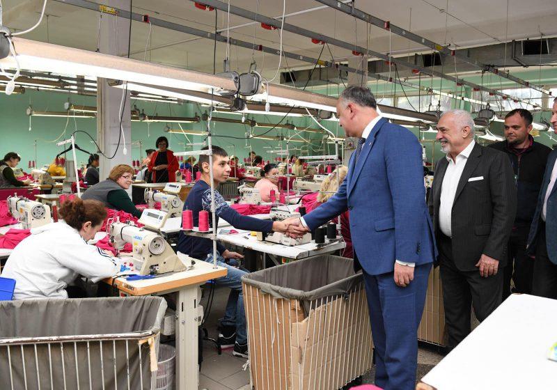 Додон: Развитая конкурентоспособная промышленность – залог процветания страны (ФОТО, ВИДЕО)