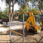 По инициативе социалистов на Ботанике отремонтируют ещё одну спортивную площадку (ФОТО)