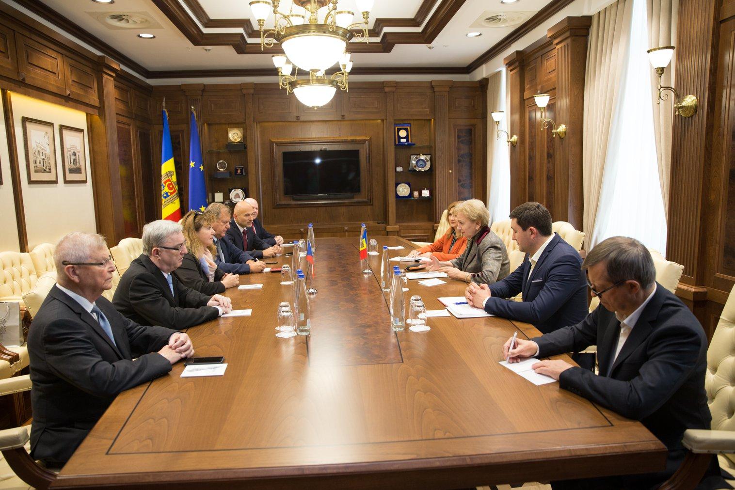 Зинаида Гречаный провела встречу с делегацией Чешской Республики (ФОТО)