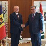 Игорь Додон провел встречу с президентом Таджикистана (ФОТО, ВИДЕО)