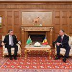 Игорь Додон провел встречу с президентом Туркменистана (ФОТО, ВИДЕО)