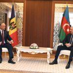 Игорь Додон обсудил двустороннее сотрудничество с президентом Азербайджана (ФОТО, ВИДЕО)