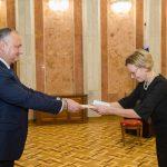 Президент принял верительные грамоты от четырех новых послов в РМ (ФОТО)