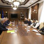 Зинаида Гречаный провела встречу с госсекретарем Совета безопасности Беларуси (ВИДЕО)