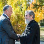 Президент совершает визит на север Молдовы: Игорь Додон встретился с епископом Маркеллом (ФОТО, ВИДЕО)