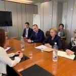 Гречаный выступила за более активное участие молдавского парламента в мероприятиях Межпарламентского союза (ФОТО)