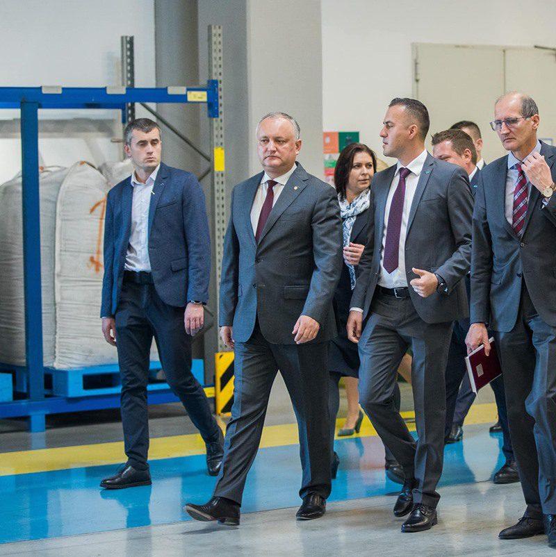 Додон: Будем всемерно поддерживать деятельность свободных экономических зон Молдовы (ФОТО, ВИДЕО)