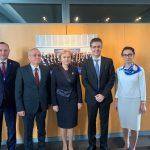 Зинаида Гречаный обсудила важные вопросы с председателем ЕСПЧ (ФОТО)