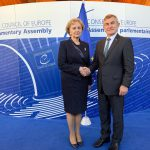 Гречаный обсудила проведение в Молдове встречи спикеров стран NB8 со своим литовским коллегой
