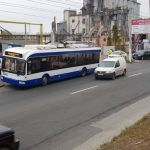 Авария на Узинелор: участником цепного ДТП стал троллейбус (ФОТО)