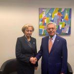 Гречаный провела встречу с председателем Венецианской комиссии (ФОТО)