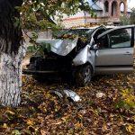 ДТП в Слободзее: водитель потерял сознание и врезался в дерево (ФОТО)