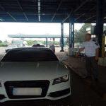 Молдаванин пытался пересечь границу Румынии на изъятом из обращения авто