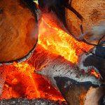 В Рыбнице пожар уничтожил хозпостройку с дровами
