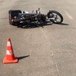 Водитель мопеда без шлема пострадал в ДТП в Каменке