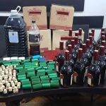 В Кишинёве изъяли крупную партию контрафактного алкоголя (ВИДЕО)