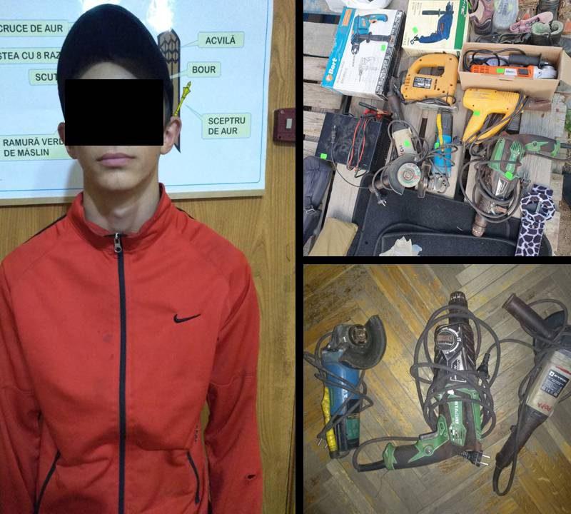 Полиция задержала несовершеннолетнего рецидивиста, промышлявшего кражами (ВИДЕО)