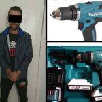 Украл дорогостоящий инструмент из магазина: рецидивиста задержала столичная полиция (ВИДЕО)