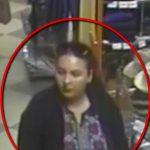 В Кишинёве разыскивают женщину, обокравшую магазин одежды (ВИДЕО)